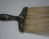 Antique Victorian Sterling Clothing Brush
