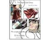 DIY PDF Pattern and Tutorial - The Paper Doll Dress - Sizes 6M to 6 Years