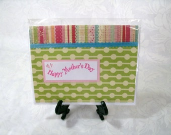 SALE//Handmade Mother's Day card, Blank inside #5621