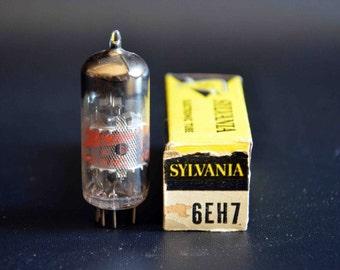 Vintage Sylvania Vacuum Tube 6EH7 for Television, Radio, Amplifiers