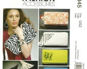 Womens Clutch Bag with Embellishments Pattern McCalls MP345 Uncut