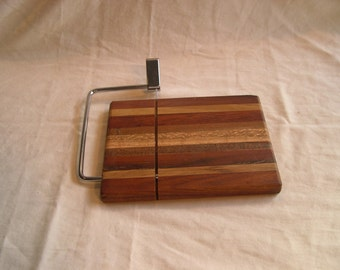 Cheese Serving Board with Slicer