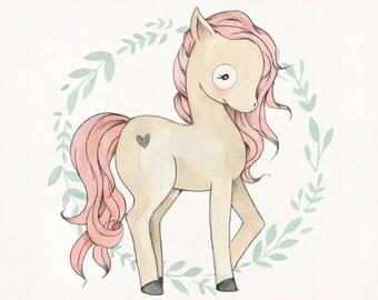 Little Pony Print - 10X10