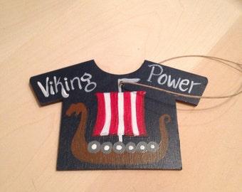 Viking Power Tshirt ornament