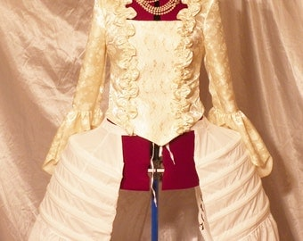 Marie Antoinette,Marie Antoinette Dress, Marie Antoinette Costume, Marie Antoinette Panniers,side pockets made to order
