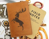 Field Notes Leather Cover - Baratheon - Customizable - Free Personalization