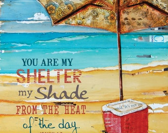 You Are My Shelter, cooler- All Sizes- Fine Art Word Print