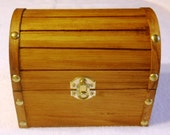 Wooden Treasure Chest - Large