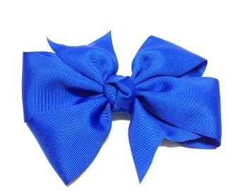 Hair Bow / Barrette / Red Bow / Hair Clip / Hair Accessories / Hair Bow / Hair Bow for Girls / Hair Bow for Teens / Blue Hair Bow