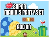 Print-INK Super Mario Bros. Party Set Add On - PR