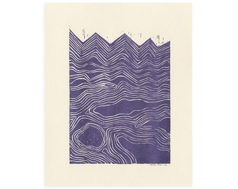 Waves - Riso Print