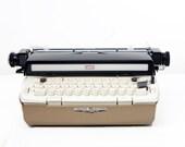 Vintage Sears Electric Power 12 Portable Typewriter