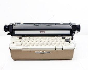 Vintage Sears Electric Power 12 Portable Typewriter