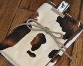 Western Cowboy Cowgirl Baby SECURITY BLANKET/LOVEY