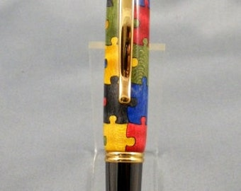 Jigsaw Puzzle Twist Pen