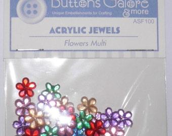Flower Acrylic Jewels