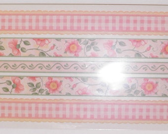 ON SALE  Flowers & Gingham Stickers
