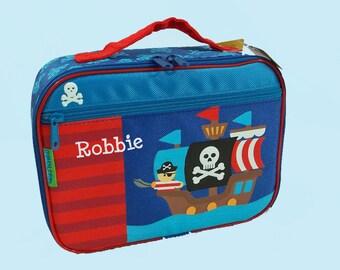 Personalized Stephen Joseph PIRATE Lunchbox