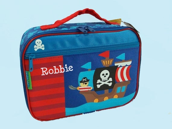 Personalized Stephen Joseph PIRATE Lunchbox
