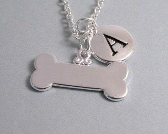 Dog Bone Charm Silver Plated Charm Jewelry Supplies