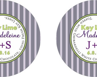 Wedding Favor Cookie stickers for  Wedding Hotel Welcome Bag & Receptions for Destination and Wedding gifts Customizable