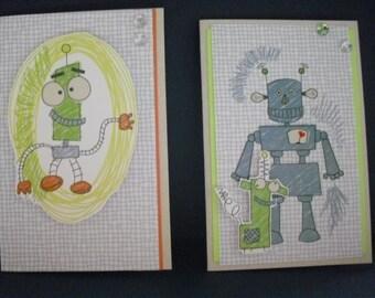 Robot or Monster Card - you choose