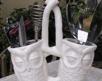 Second's 15% OFF Sale Tootsie Pop Owl Kitchen Caddy
