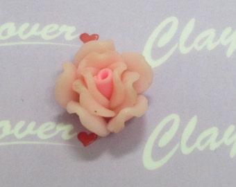 Cabochons Pink Rose -Big (CL-005)