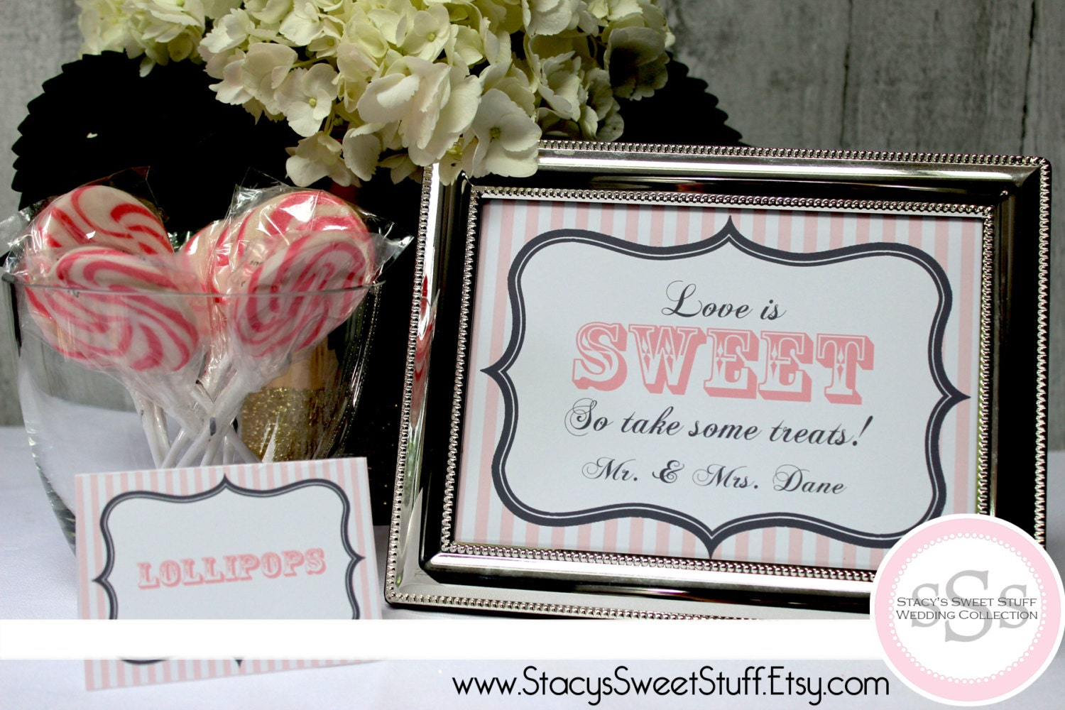 Dessert Candy Buffet Sign Custom Diy Printable