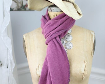 Shades if wine cashmere scarf