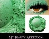 Clearance-Bright Vivid Green Mineral Eye Shadow-Snapple Green