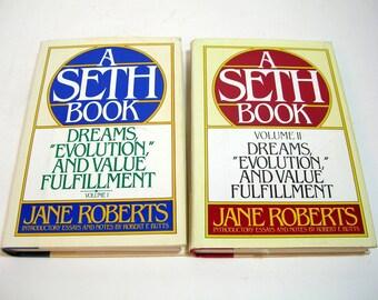 A Seth Book Volumes I And II By Jane Roberts