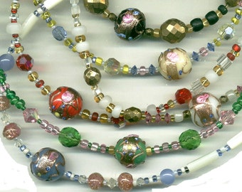 Spacer Beads, 3 sizes, Czech, 3,6 & 8, Seed and E Beads,  GB41.GB50.GB60.GB62*
