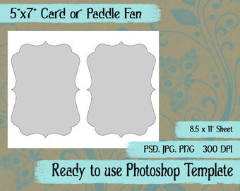 Paddle fan etsy for Paddle fan template
