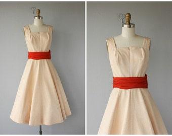 Vintage 1950s Dress | 50s Party Dress | 50s Dress | Midcentury Dress | Vintage 50s Dress