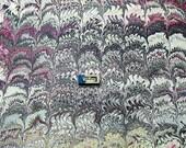 italian marbled paper, scrapbook. Marmorpapier, Papel marmolado,  Bookbinding  paper, 19,5
