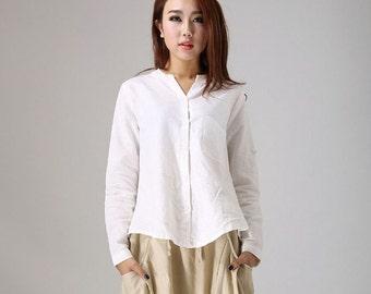 Linen shirt women | Etsy
