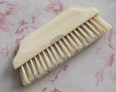 French Ivory Celluloid Hat or Clothing Brush c.1910
