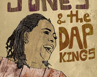 Sharon Jones and the Dap Kings Poster - Limited Edition of 100