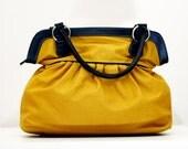 Yellow Diaper bag, Tote bag, Women Bag, Laptop Bag, Book Bag