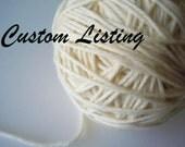 Custom Listing for Sara