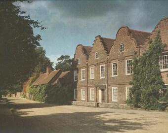 Sale 20% off Denham Village, London, Buckinghamshire, Plate 87, English Heritage, England Photograph, Vintage Print, 1957