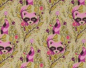 Raccoons in Canyon from Acacia by Tula Pink - One Yard