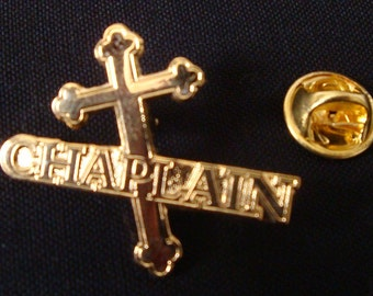Chaplain Lapel Pin
