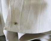tea towel with star