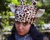 Giraffe Fleece Hat