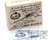 """Lovely stamp for """"Letter"""""""