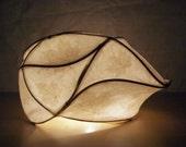Paper Light Sculpture, Abstract Light Sculpture, Lighting, Fine Art, Maple
