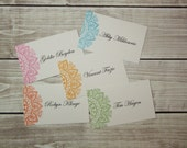 Mehndi Wedding Escort Cards, Indian Wedding Place Cards, Shower Place Cards