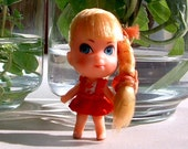 """RETRO Liddle Kiddles """"Lucky Locket Kiddle"""" LORNA Kiddle VERY Hard to Find item - Vintage 48 years Old 1966"""